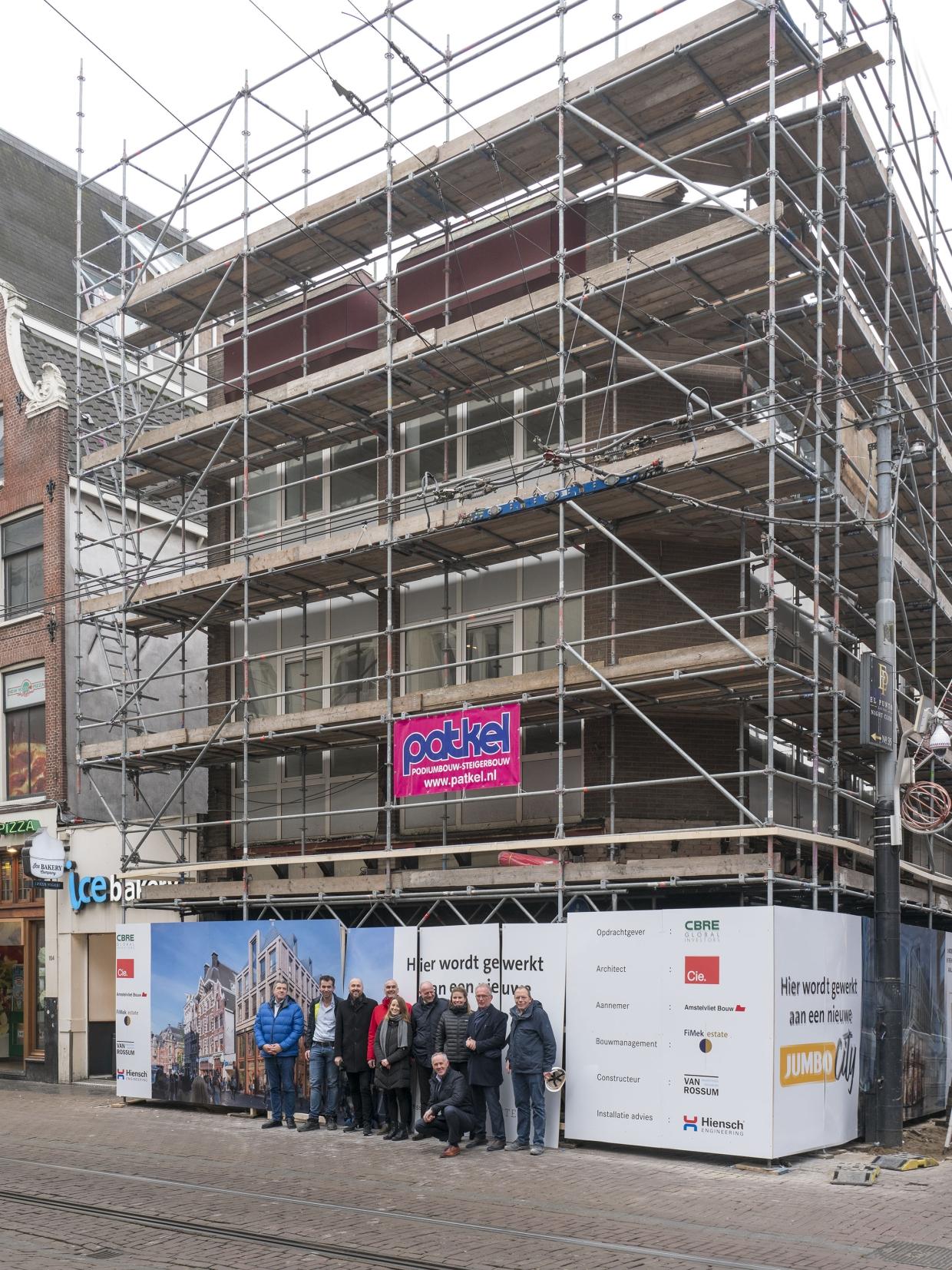21-01-2020 START BOUW Leidsestraat 100 amsterdam